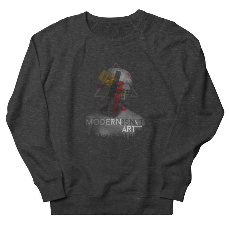 Modernisn't Art Men's Sweatshirt by Gabriel Mihai Artist Shop
