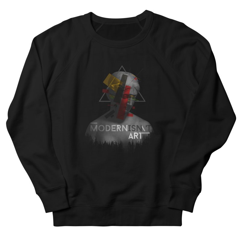 Modernisn't Art Men's French Terry Sweatshirt by Gabriel Mihai Artist Shop