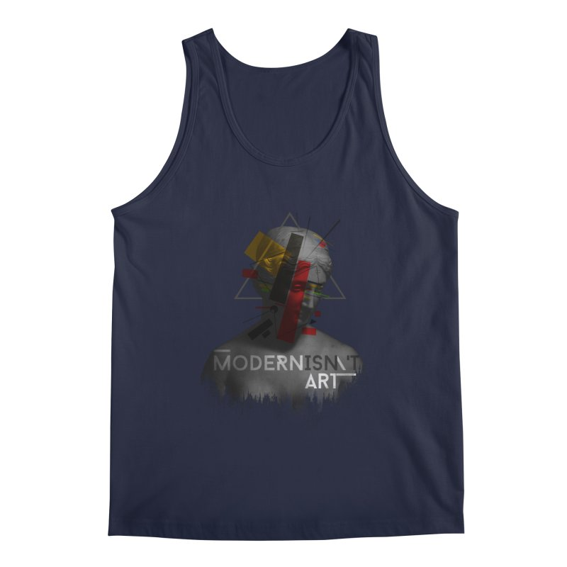 Modernisn't Art Men's Tank by Gabriel Mihai Artist Shop