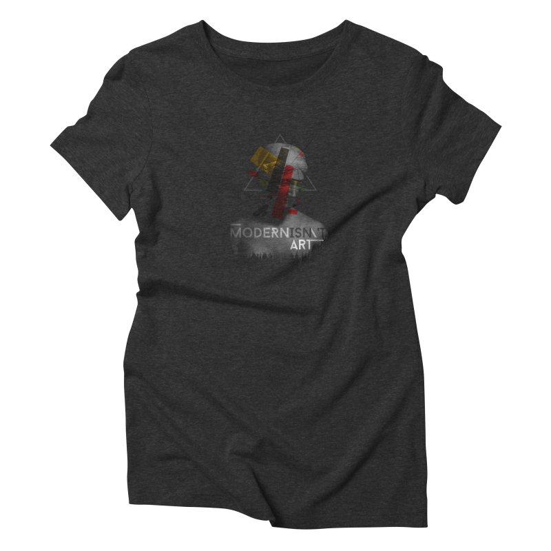 Modernisn't Art Women's T-Shirt by Gabriel Mihai Artist Shop