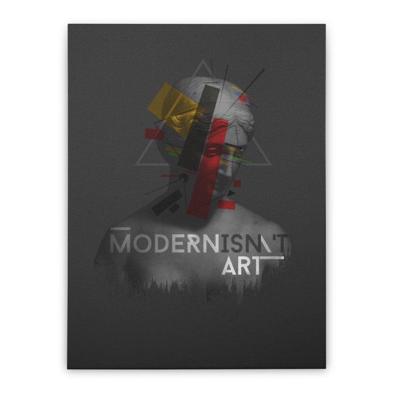 Modernisn't Art Home Stretched Canvas by Gabriel Mihai Artist Shop