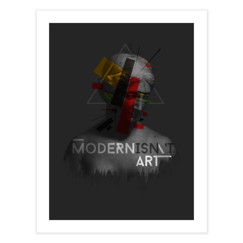 Modernisn't Art Home Fine Art Print by Gabriel Mihai Artist Shop