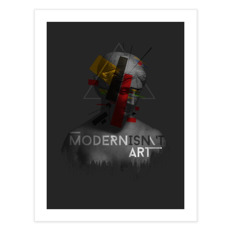 Modernisn't Art Home Fine Art Print by Gabriel Mihai Artist Shop