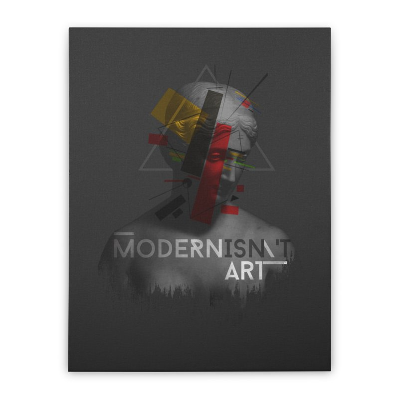 Modernisn't Art Home Stretched Canvas by Gabriel Mihai Artist Shop