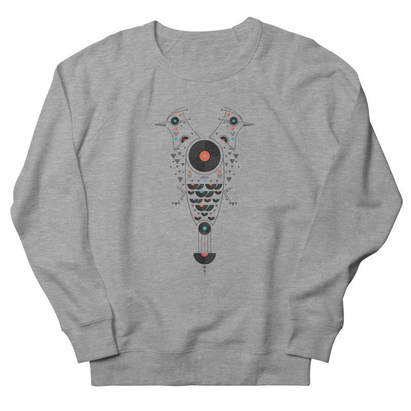 Vinyl Birds Men's French Terry Sweatshirt by Gabriel Mihai Artist Shop