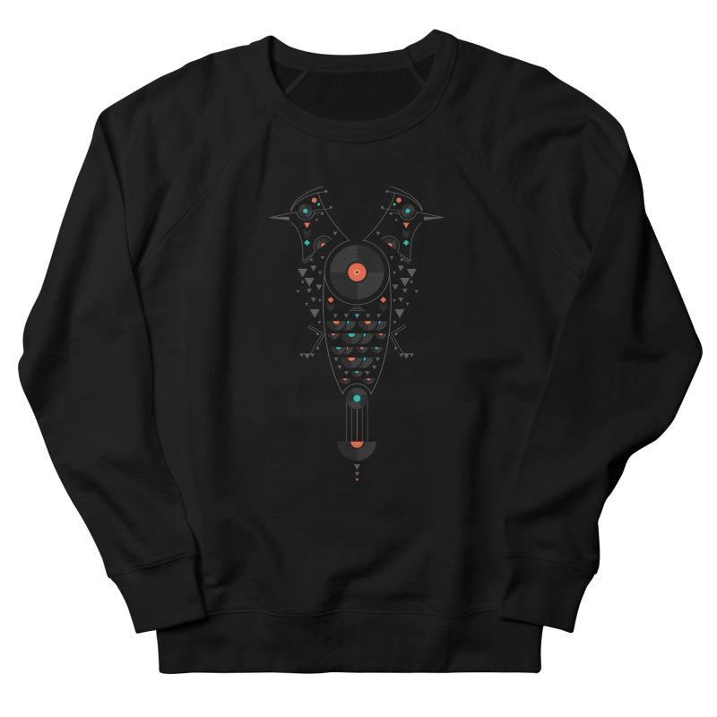 Vinyl Birds Men's Sweatshirt by Gabriel Mihai Artist Shop