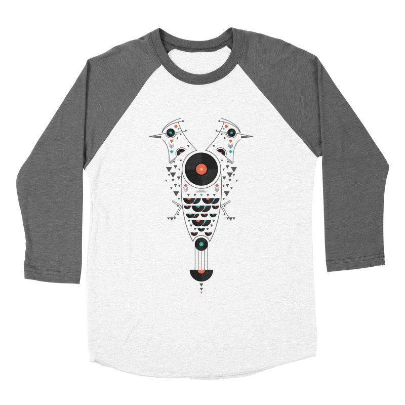 Vinyl Birds Women's Longsleeve T-Shirt by Gabriel Mihai Artist Shop