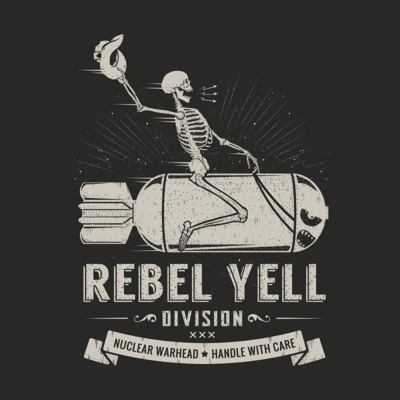 Rebel Yell Men's V-Neck by Gabriel Mihai Artist Shop