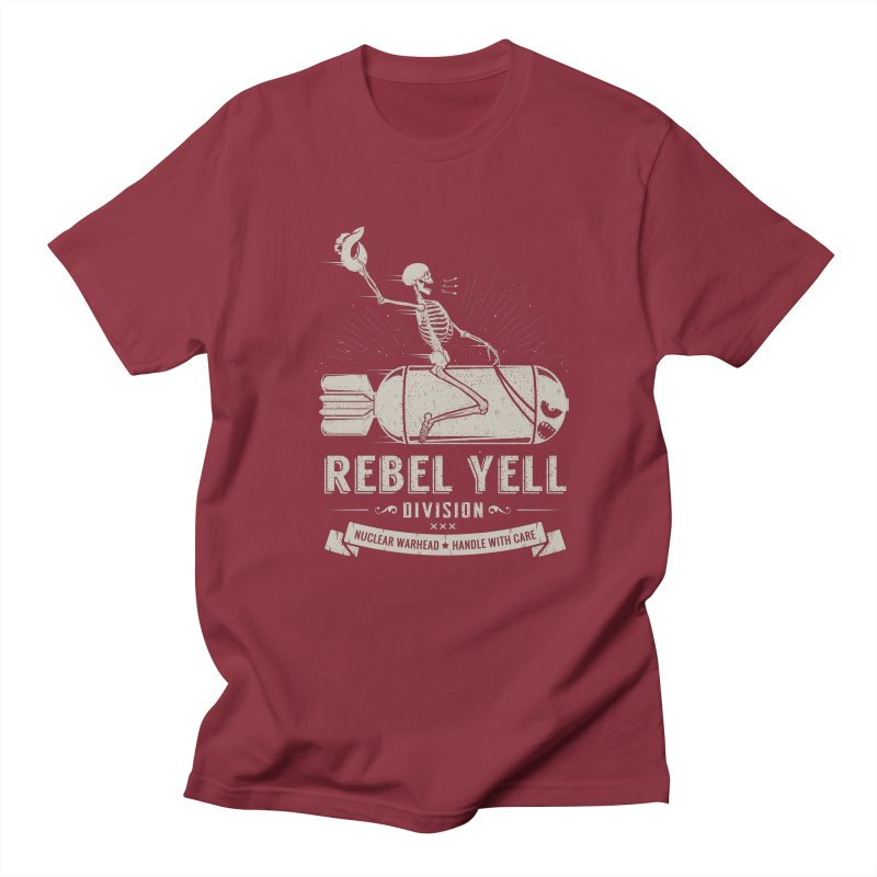 Rebel Yell Men's T-Shirt by Gabriel Mihai Artist Shop