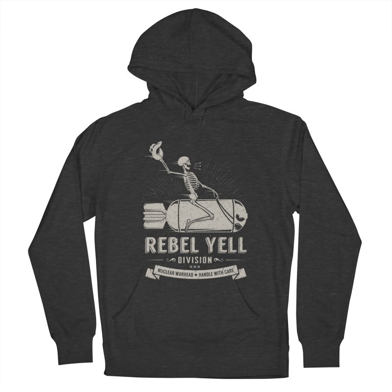 Rebel Yell Women's French Terry Pullover Hoody by Gabriel Mihai Artist Shop