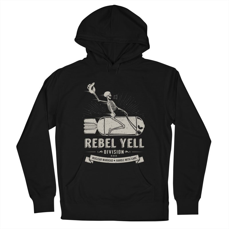 Rebel Yell Men's French Terry Pullover Hoody by Gabriel Mihai Artist Shop