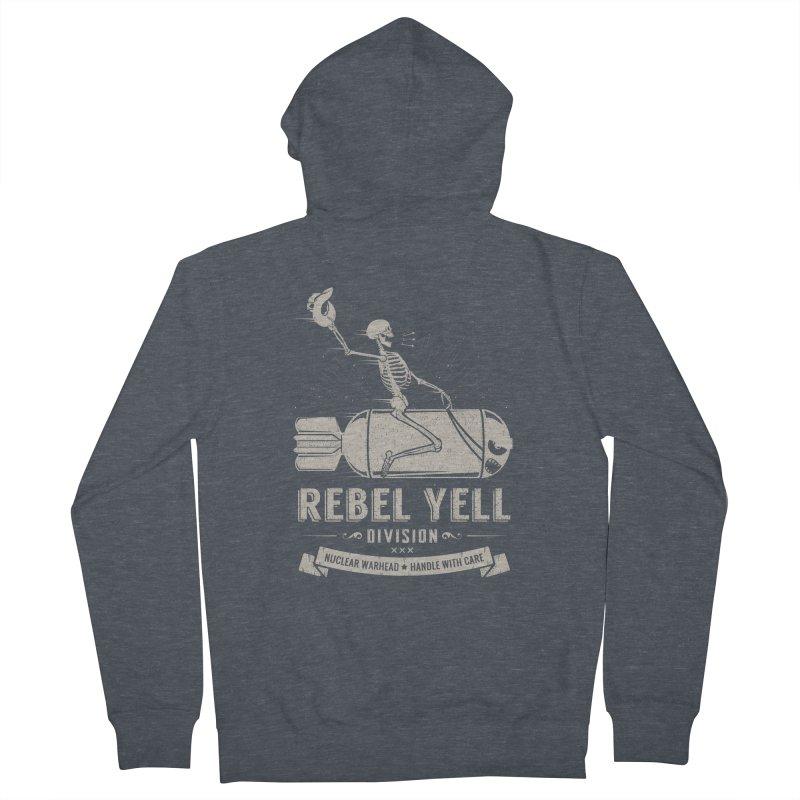 Rebel Yell Women's Zip-Up Hoody by Gabriel Mihai Artist Shop