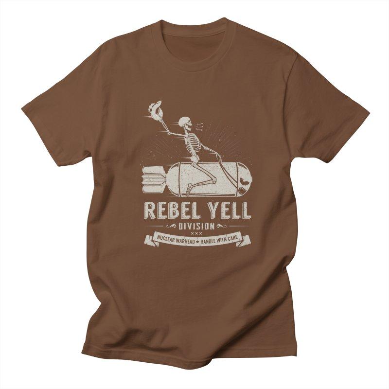 Rebel Yell Men's Regular T-Shirt by Gabriel Mihai Artist Shop
