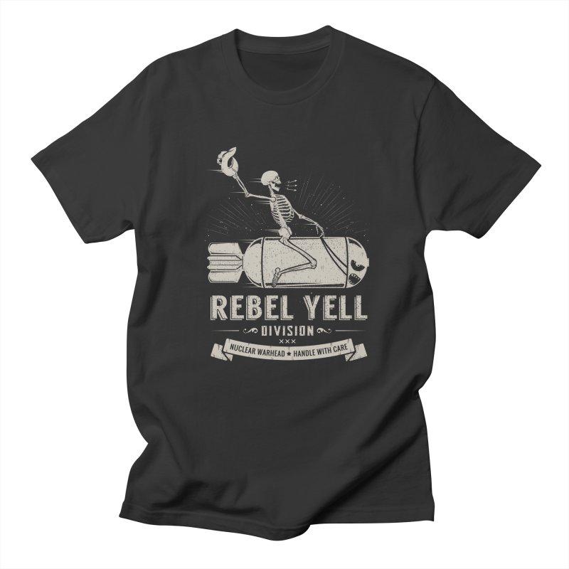 Rebel Yell Men's T-Shirt by Gabriel Mihai Artist Shop