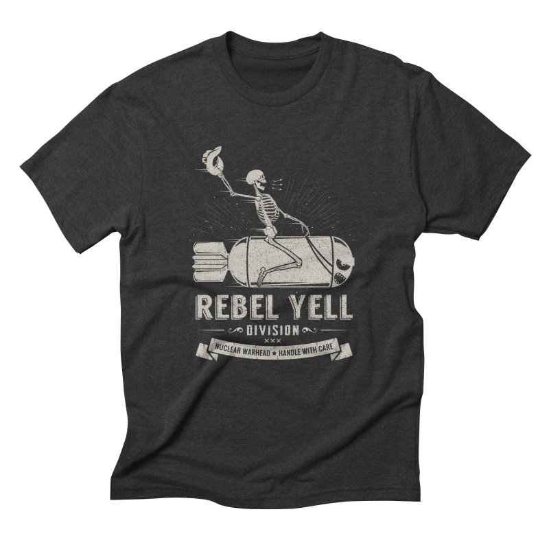 Rebel Yell Men's Triblend T-Shirt by Gabriel Mihai Artist Shop