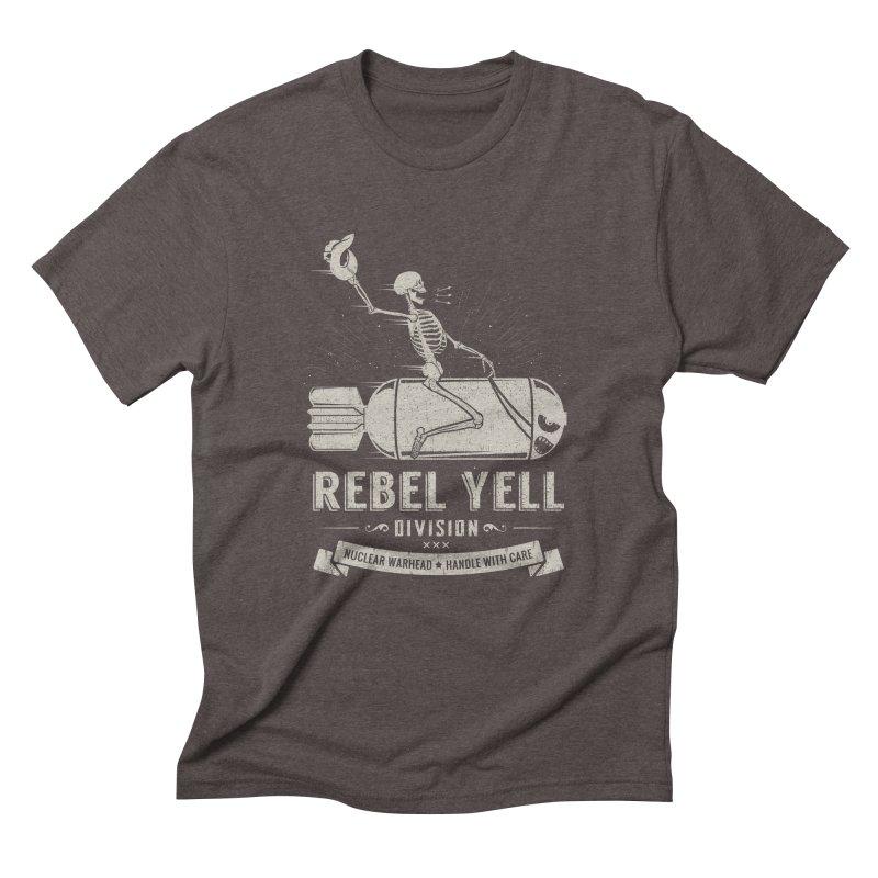 Rebel Yell Men's Triblend T-Shirt by Gabriel Mihai Artist Shop
