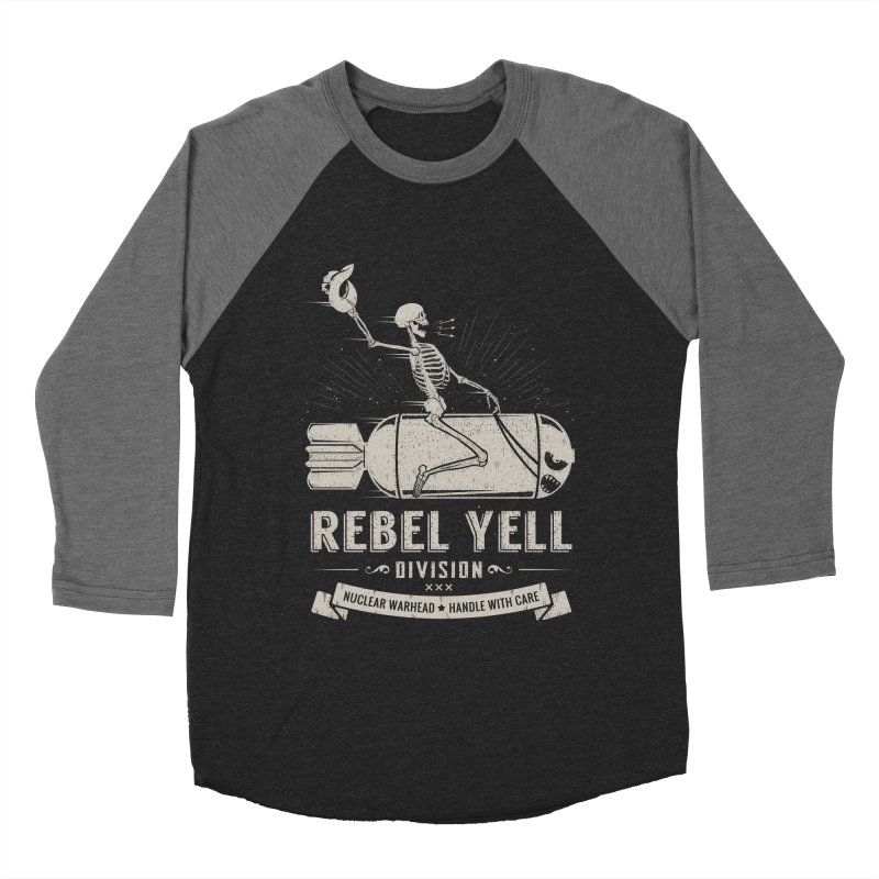 Rebel Yell Men's Baseball Triblend Longsleeve T-Shirt by Gabriel Mihai Artist Shop