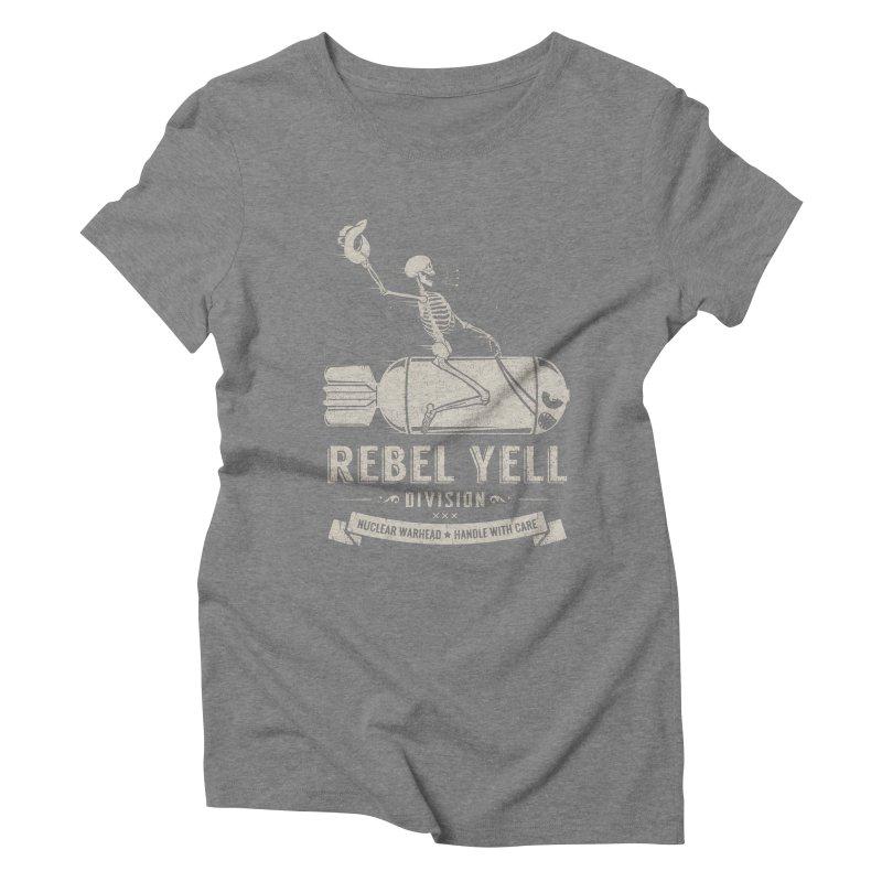 Rebel Yell Women's Triblend T-shirt by Gabriel Mihai Artist Shop