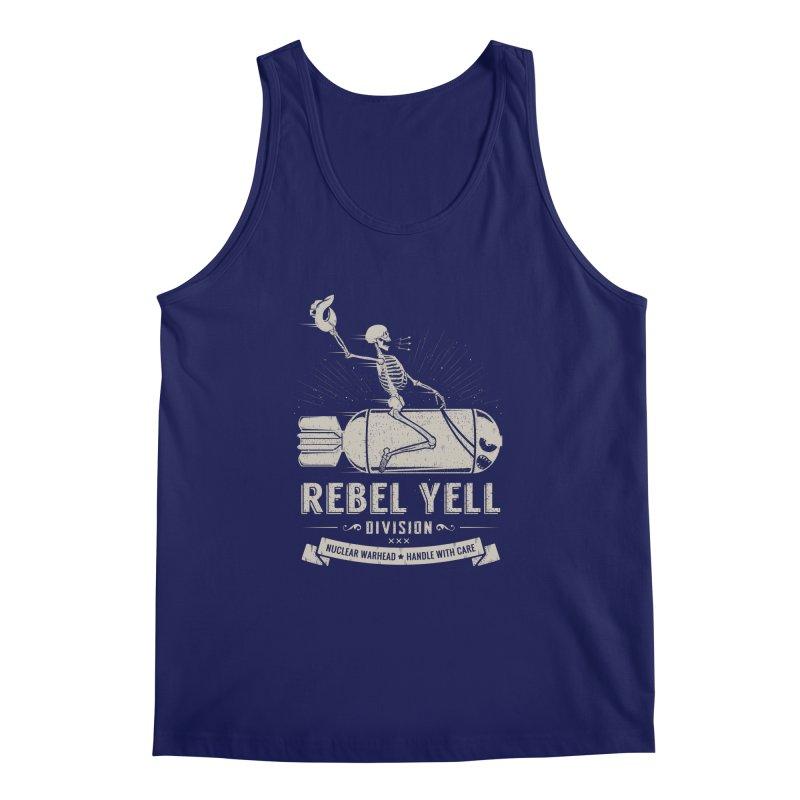 Rebel Yell Men's Tank by Gabriel Mihai Artist Shop