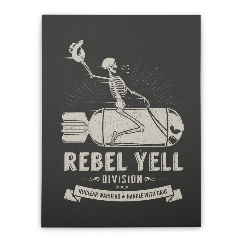Rebel Yell Home Stretched Canvas by Gabriel Mihai Artist Shop