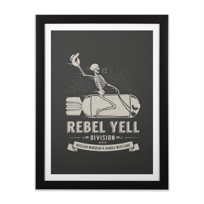 Rebel Yell Home Framed Fine Art Print by Gabriel Mihai Artist Shop