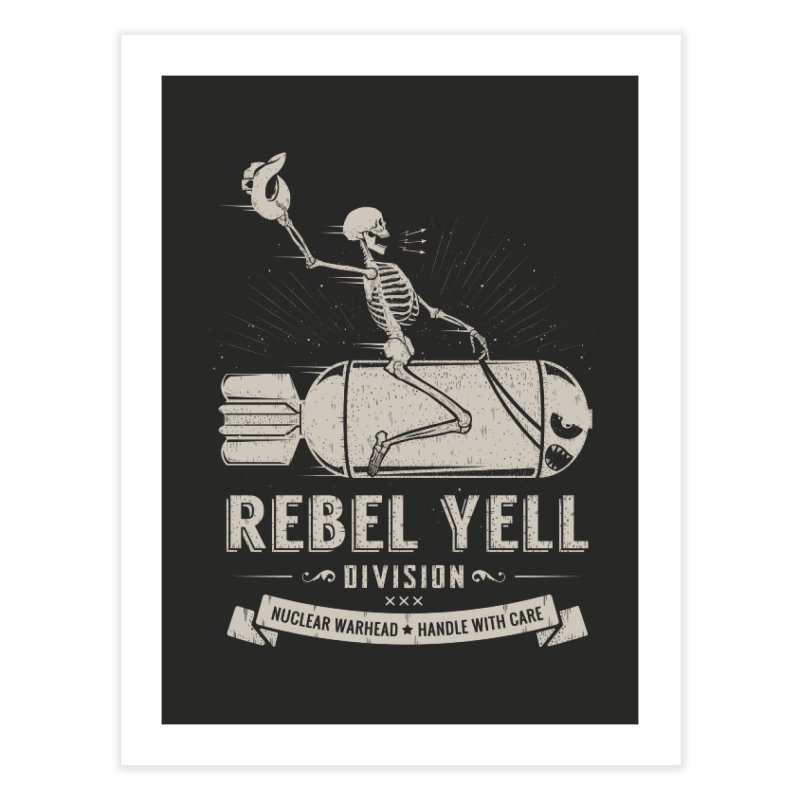 Rebel Yell Home Fine Art Print by Gabriel Mihai Artist Shop