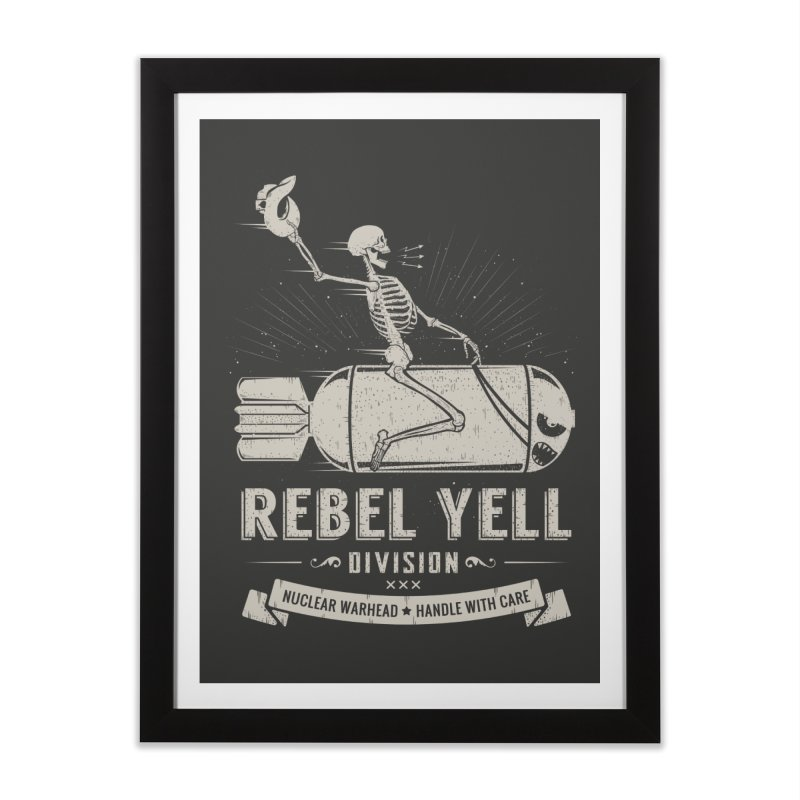 Rebel Yell Home Framed Fine Art Print by Gabriel Mihai Artist Shop