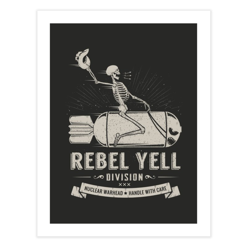 Rebel Yell Home Fine Art Print by Gabriel Mihai Artist Shop