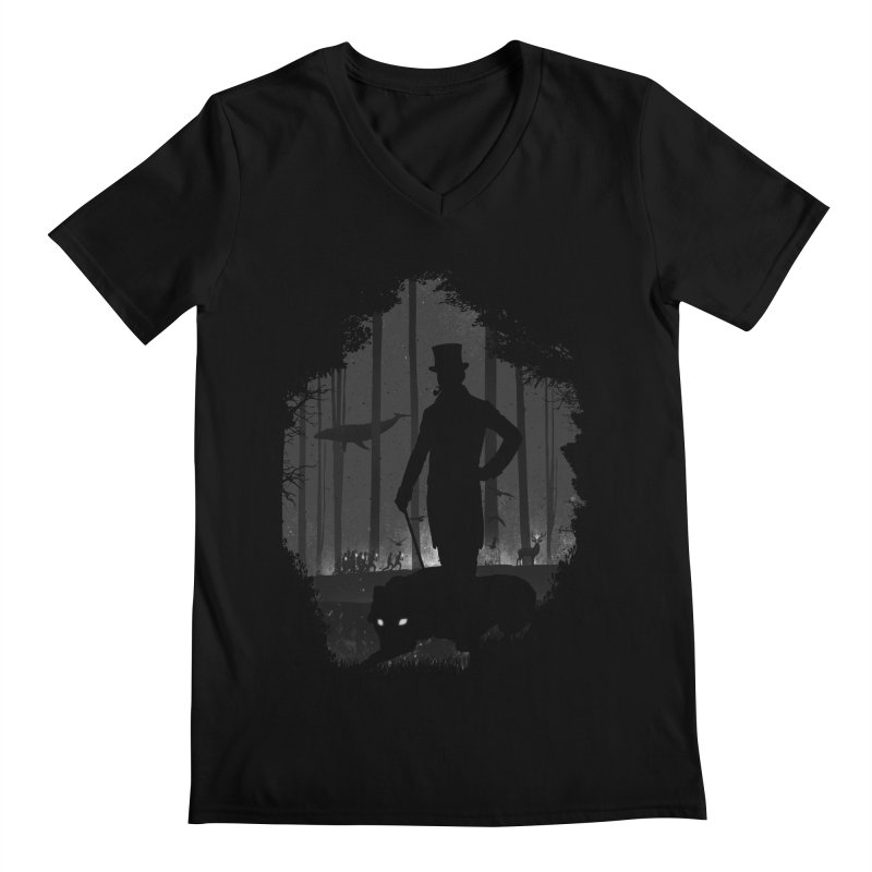 Lucid Dream Men's Regular V-Neck by Gabriel Mihai Artist Shop