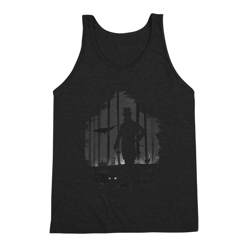 Lucid Dream Men's Triblend Tank by Gabriel Mihai Artist Shop