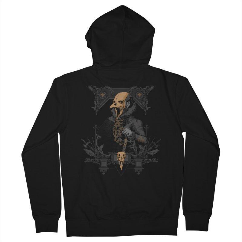 Raven Lord Men's Zip-Up Hoody by Gabriel Mihai Artist Shop