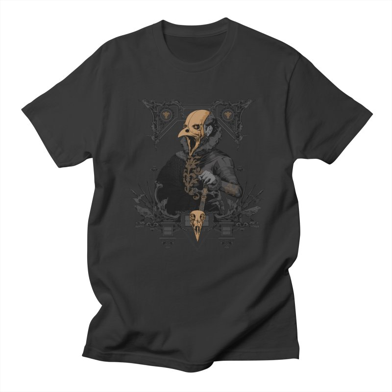 Raven Lord Men's T-Shirt by Gabriel Mihai Artist Shop