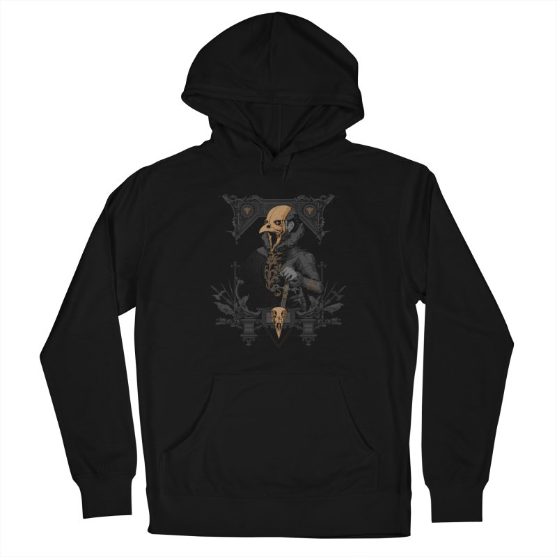 Raven Lord Men's Pullover Hoody by Gabriel Mihai Artist Shop