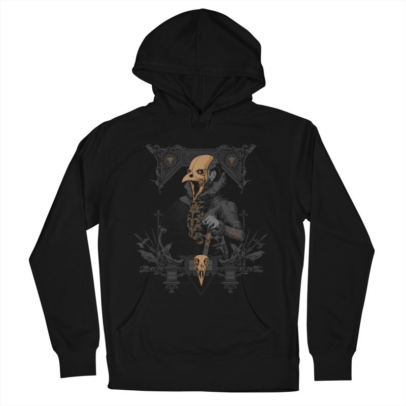 Raven Lord Men's French Terry Pullover Hoody by Gabriel Mihai Artist Shop