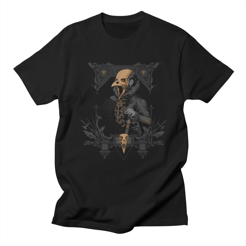 Raven Lord Men's Regular T-Shirt by Gabriel Mihai Artist Shop