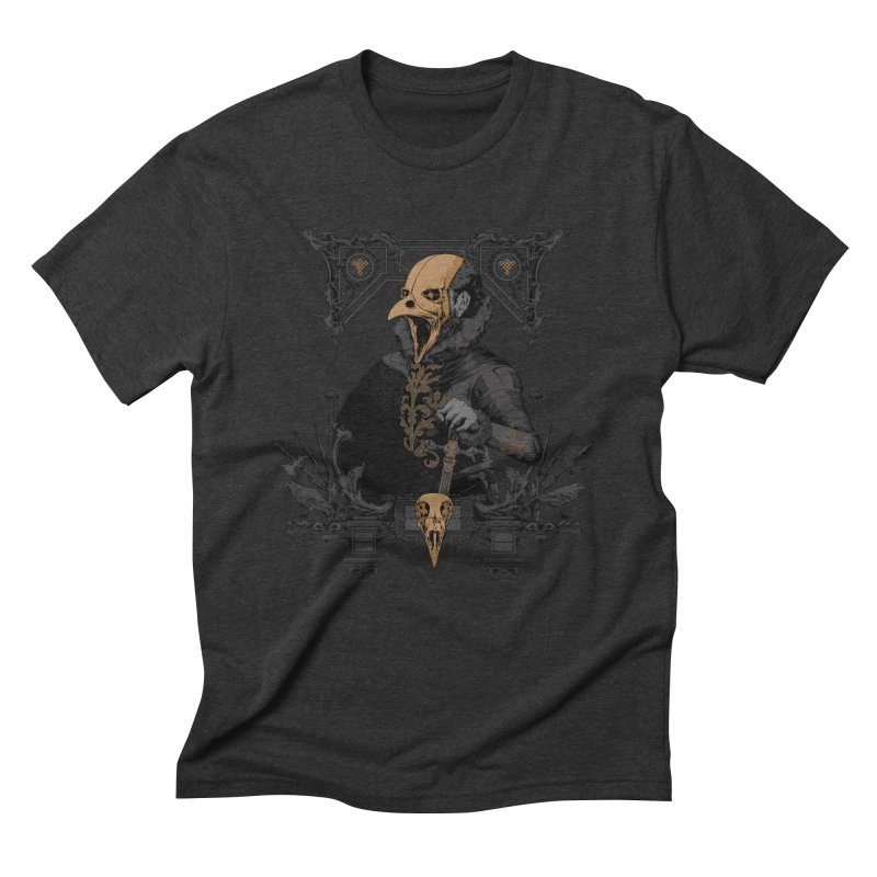 Raven Lord Men's Triblend T-Shirt by Gabriel Mihai Artist Shop
