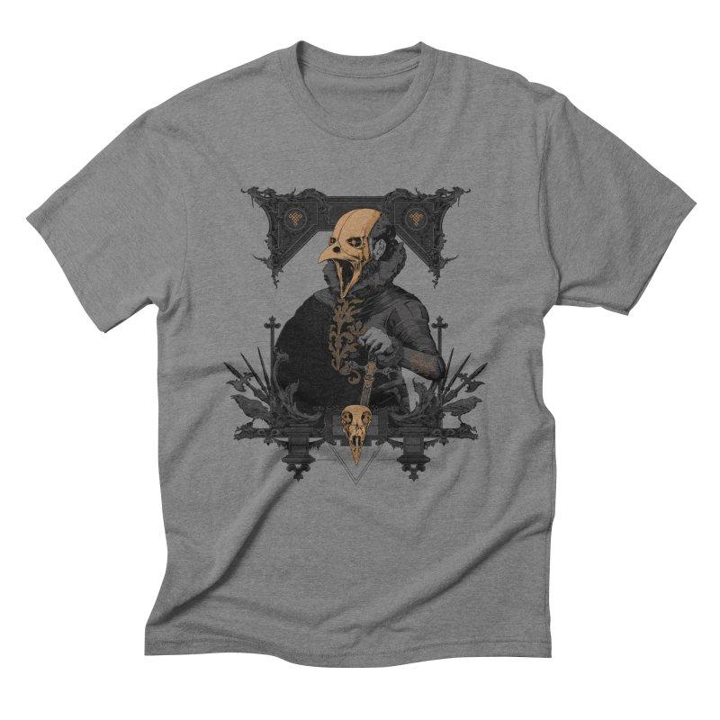Raven Lord Men's Triblend T-shirt by Gabriel Mihai Artist Shop