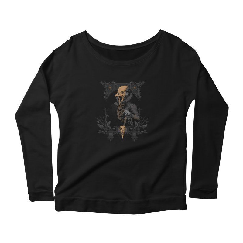 Raven Lord Women's Longsleeve T-Shirt by Gabriel Mihai Artist Shop