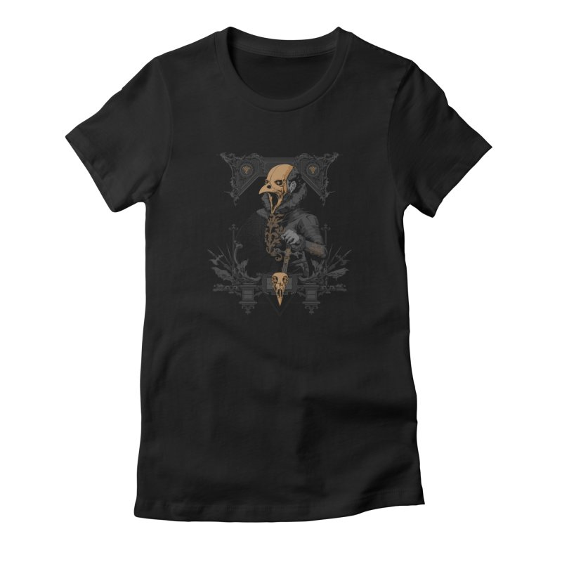 Raven Lord Women's T-Shirt by Gabriel Mihai Artist Shop
