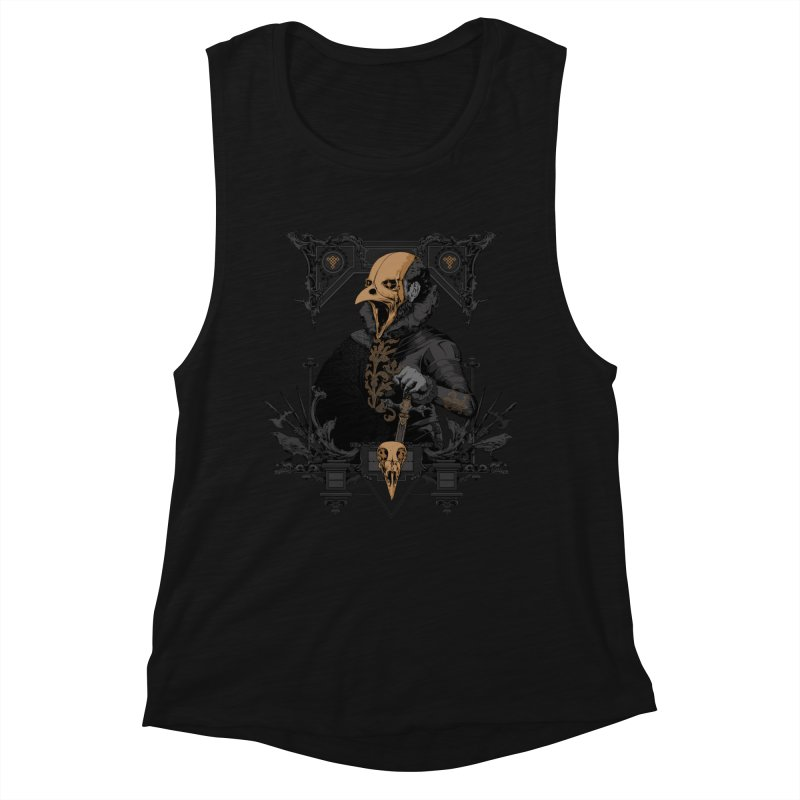Raven Lord Women's Tank by Gabriel Mihai Artist Shop