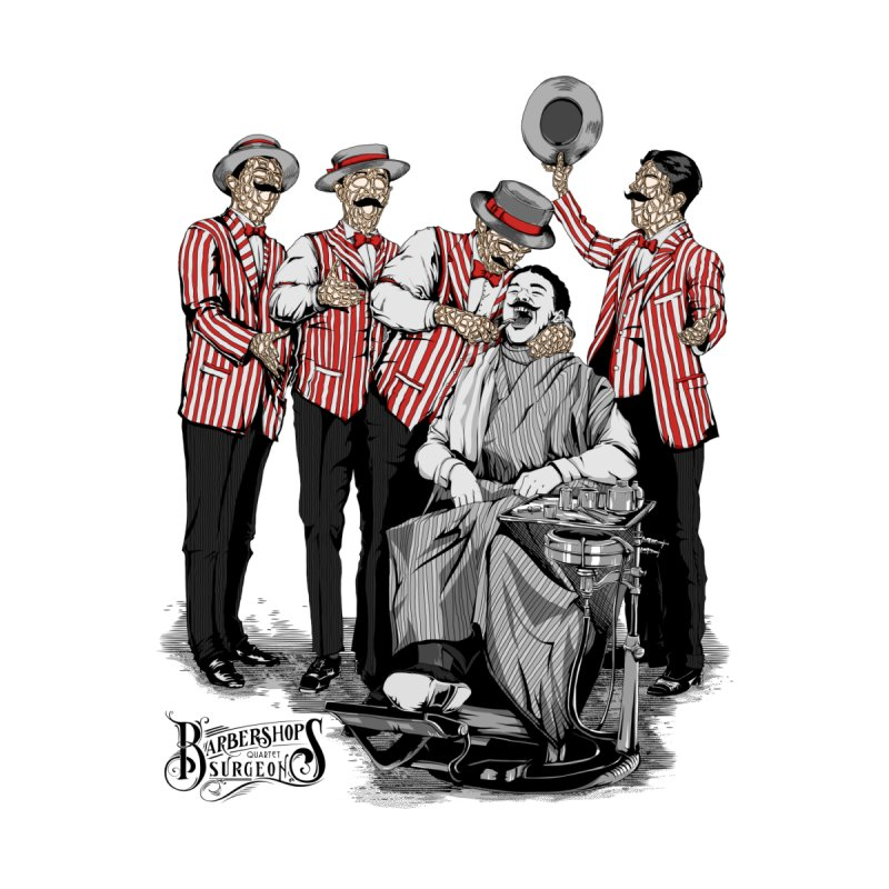 Barbershop Quartet Surgeons None  by Gabriel Mihai Artist Shop