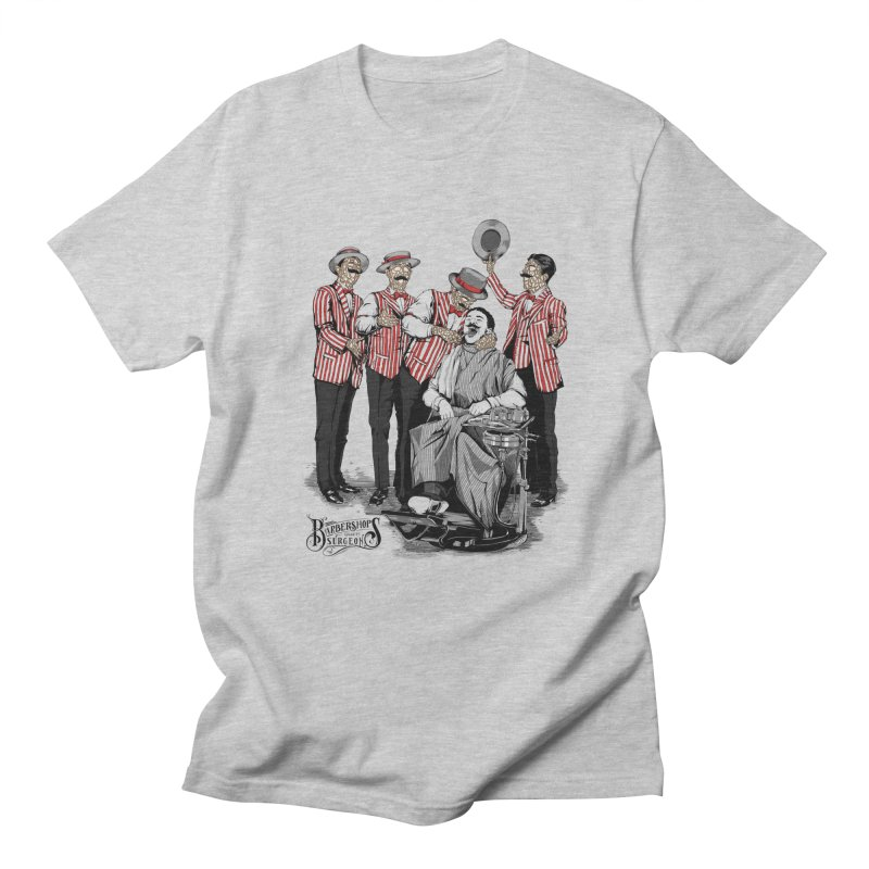 Barbershop Quartet Surgeons Men's Regular T-Shirt by Gabriel Mihai Artist Shop