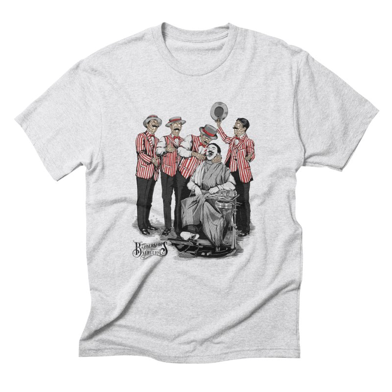 Barbershop Quartet Surgeons Men's Triblend T-Shirt by Gabriel Mihai Artist Shop