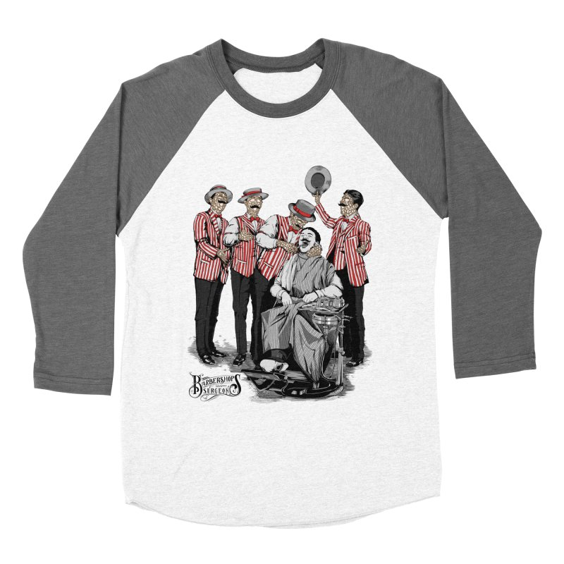 Barbershop Quartet Surgeons Men's Baseball Triblend Longsleeve T-Shirt by Gabriel Mihai Artist Shop