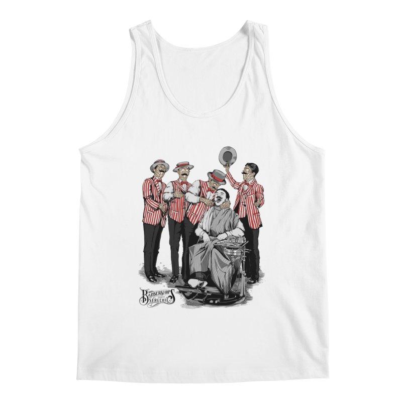 Barbershop Quartet Surgeons Men's Regular Tank by Gabriel Mihai Artist Shop
