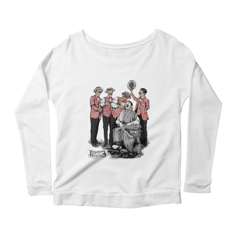 Barbershop Quartet Surgeons Women's Longsleeve Scoopneck  by Gabriel Mihai Artist Shop