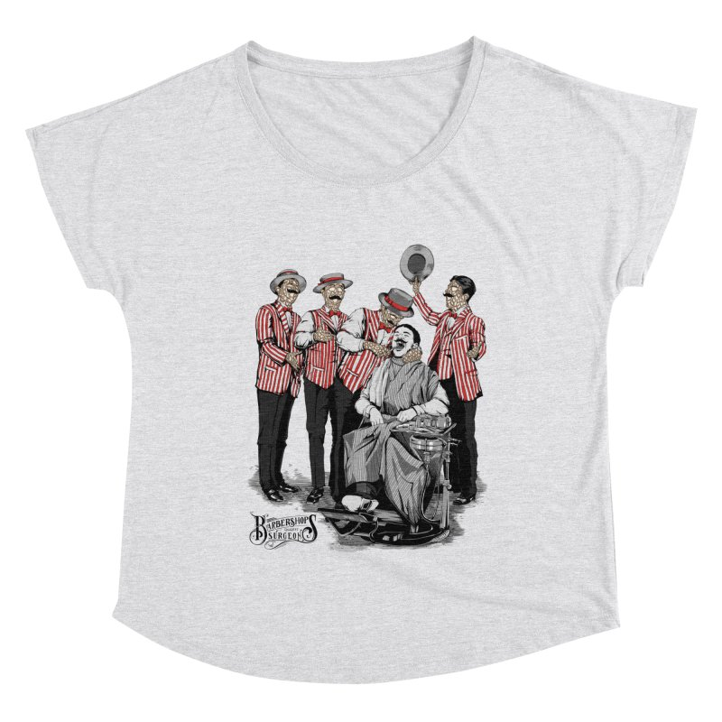 Barbershop Quartet Surgeons Women's Dolman Scoop Neck by Gabriel Mihai Artist Shop