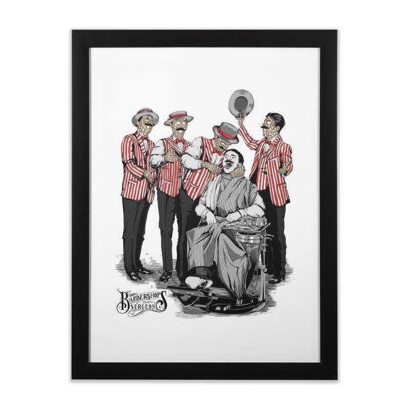 Barbershop Quartet Surgeons Home Framed Fine Art Print by Gabriel Mihai Artist Shop