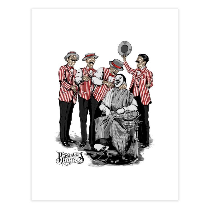 Barbershop Quartet Surgeons Home Fine Art Print by Gabriel Mihai Artist Shop