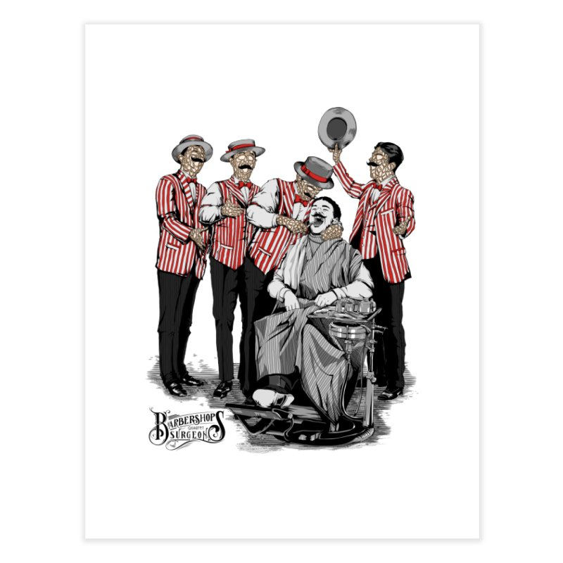 Barbershop Quartet Surgeons Home Fine Art Print by Gabriel Mihai Artist Shop